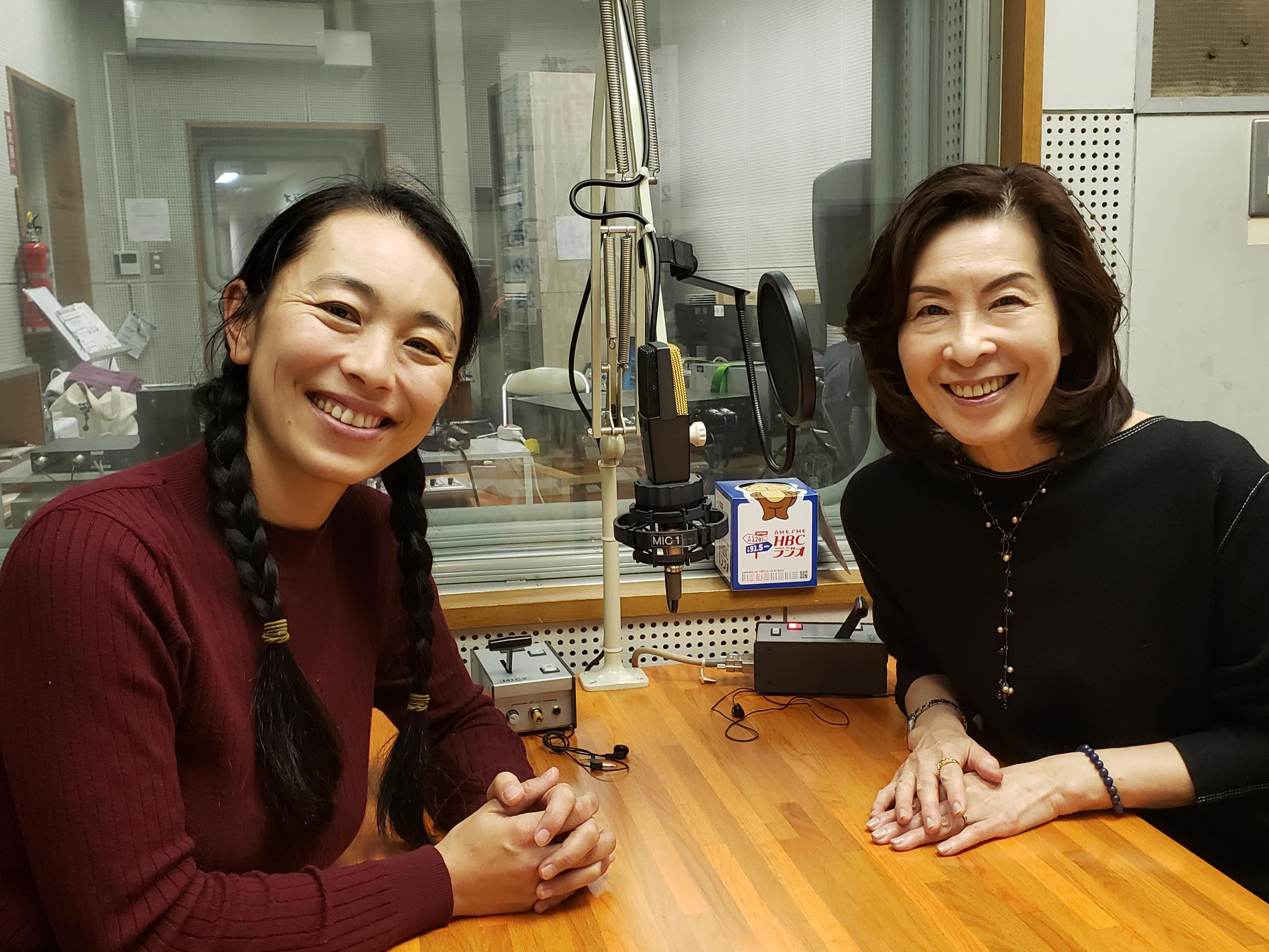"""HBCラジオ""""北海道元気びと""""に出演しました。"""