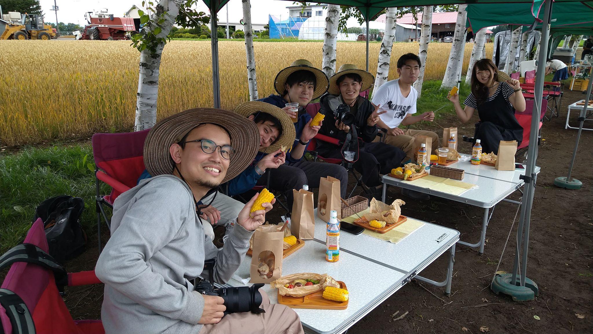 農場移動のお知らせ~坂東農場のとうきびピクニックは8月6日まで~